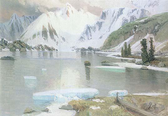 Гуркин Озеро горных духов 1912