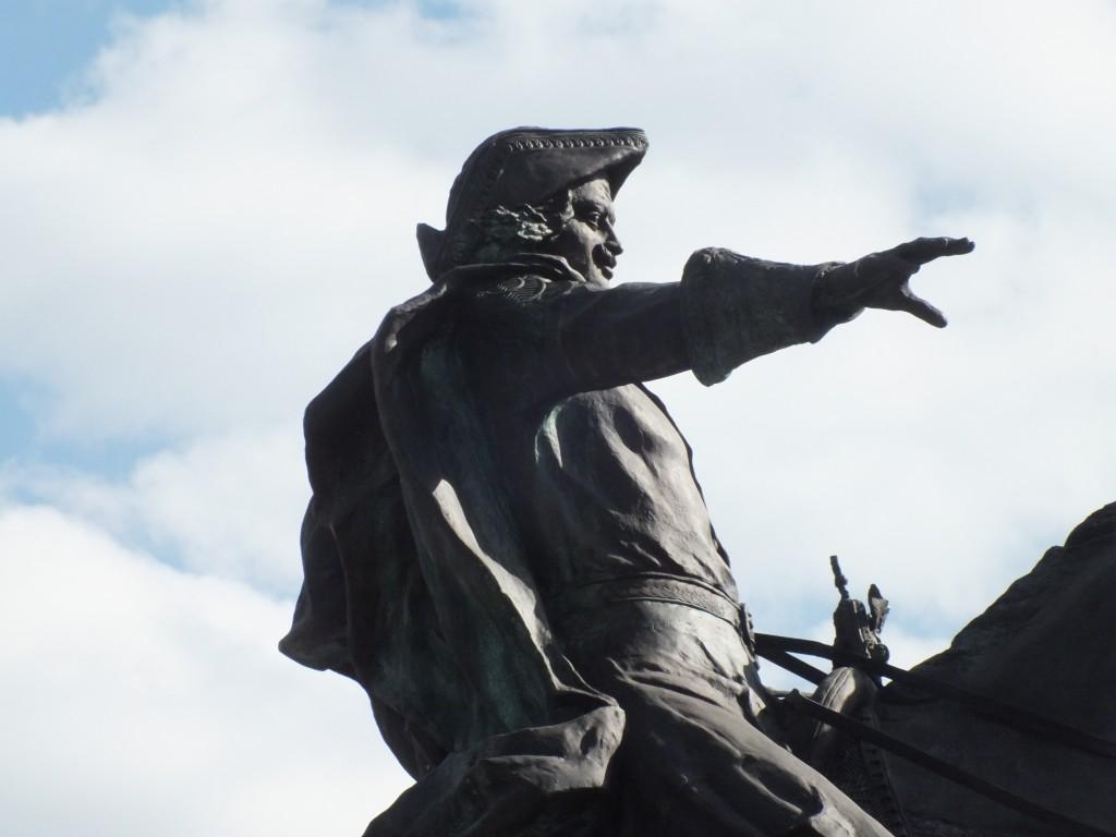 Памятник Петру в Бийске