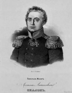 Скалон, Герой войны 1812 года